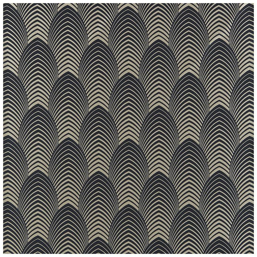 Black Design Wallpaper Art Deco Style 101 Sarah Akwisombe