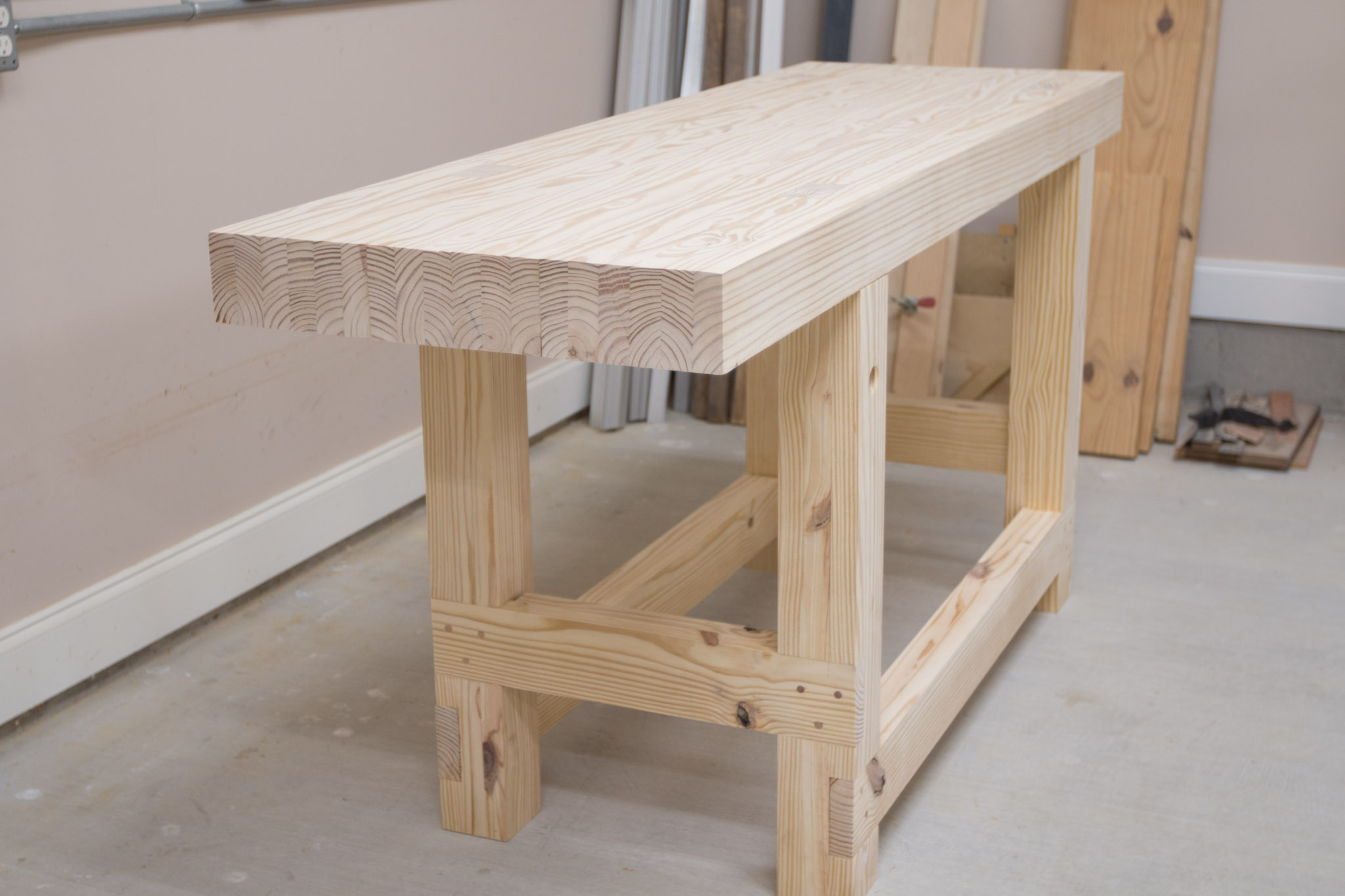 Building The Jay Bates Workbench Bruce A Ulrich