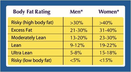 Body Fat \u2014 Ultrasound Body Fat Testing  RMR