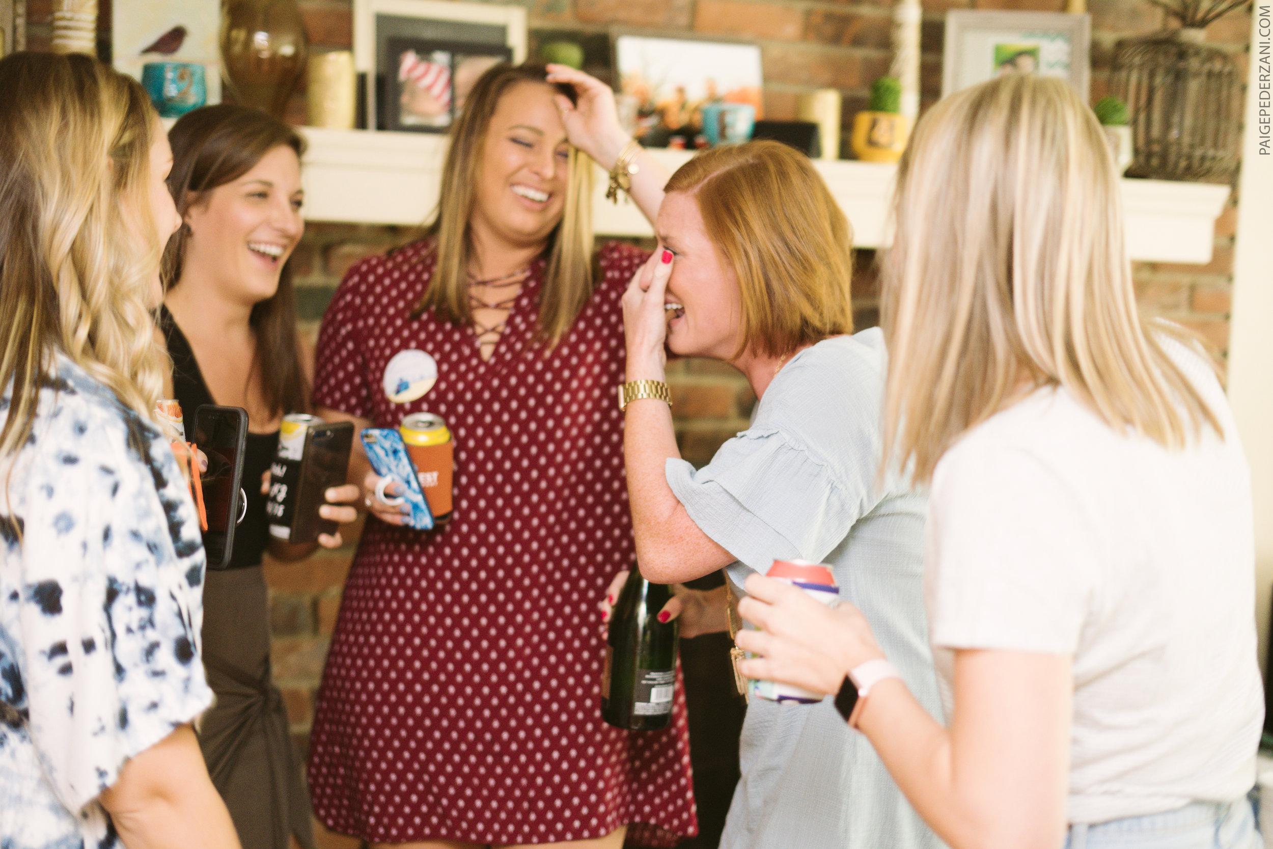 Cincinnati Engagement Photographer Surprise Engagement Party - surprise engagement party