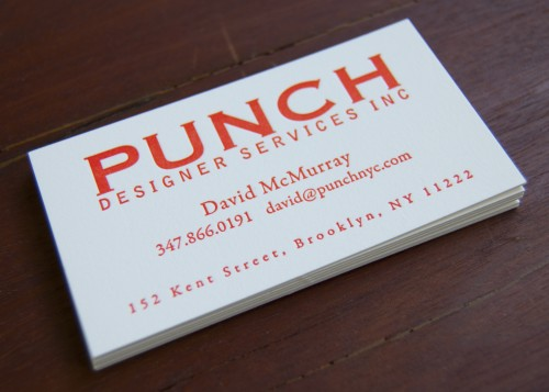 All About Business Cards, Part 3 \u2014 Sesame Letterpress + Design
