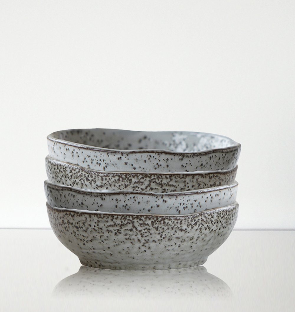 House Doctor Rustic Rustic Bowl In Grey 14cm