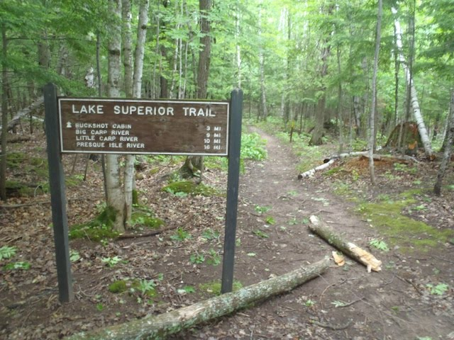 Porcupine Mountains Michigan Backpacking North