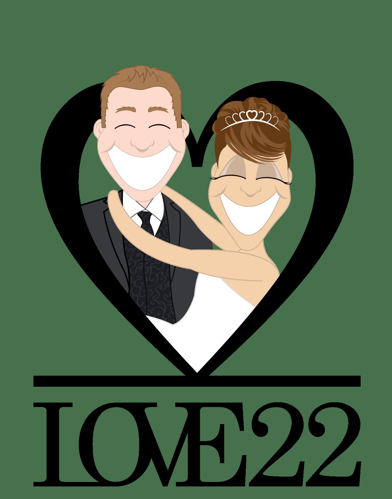 hellolove22 wedding stationery LOVE 22 Wedding Stationery