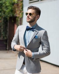 How To Style a Bow Tie For A Wedding  The Modern Otter