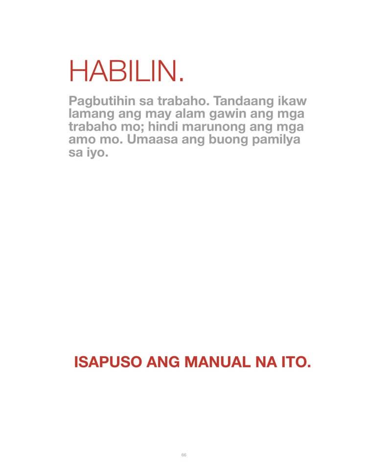 Training u2014 MAIDPROVIDERPH u2013 Philippinesu0027s No 1 Maid Agency Brand - training manual