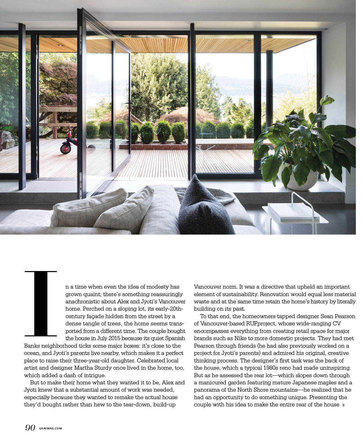 Container Haus Kanada Magazine Tearsheets Ema Peter Photography