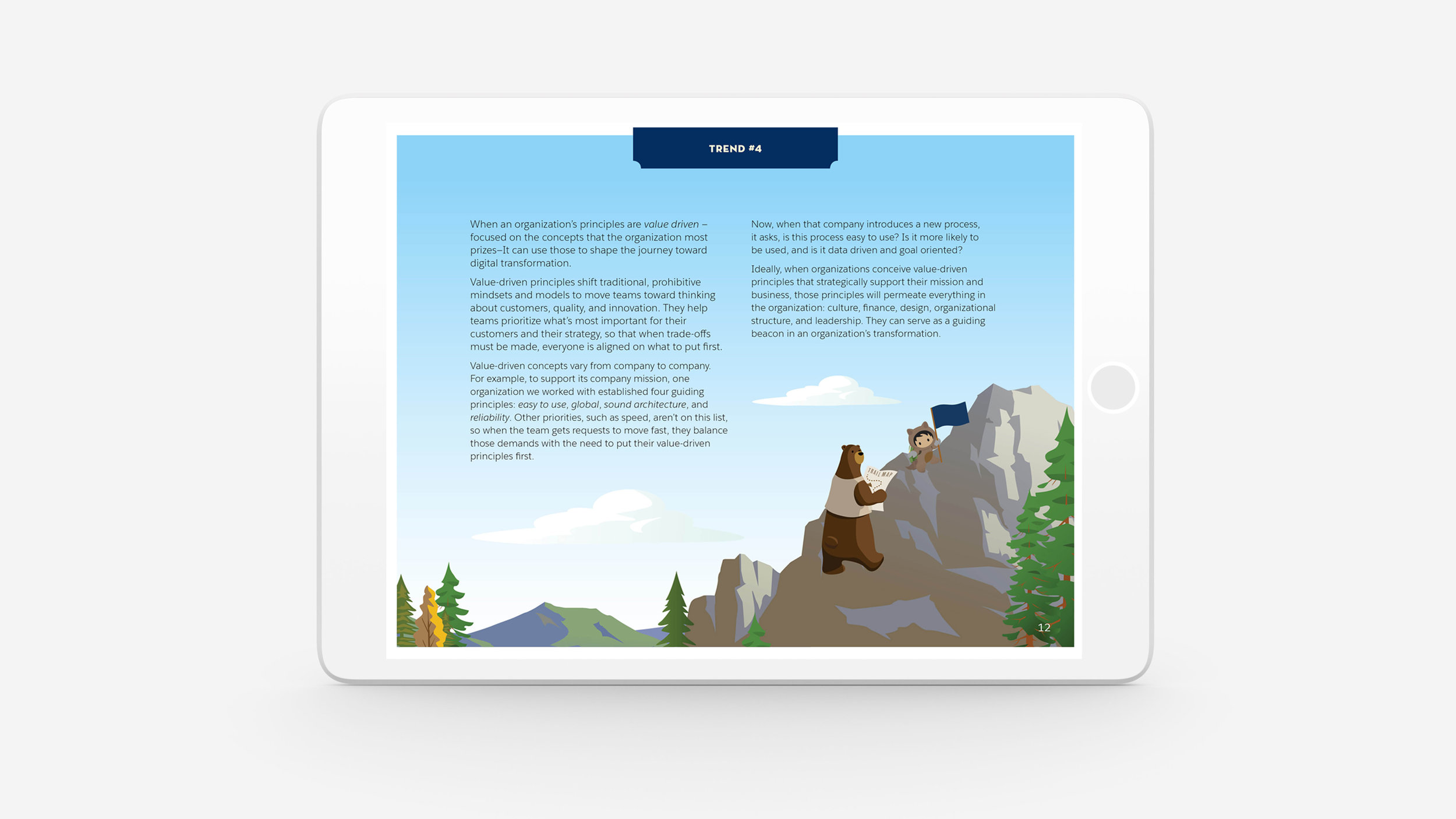 Salesforce Success Cloud White Paper \u2014 Tiffany Chin Graphic Designer