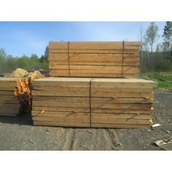 Small Crop Of Rough Sawn Cedar