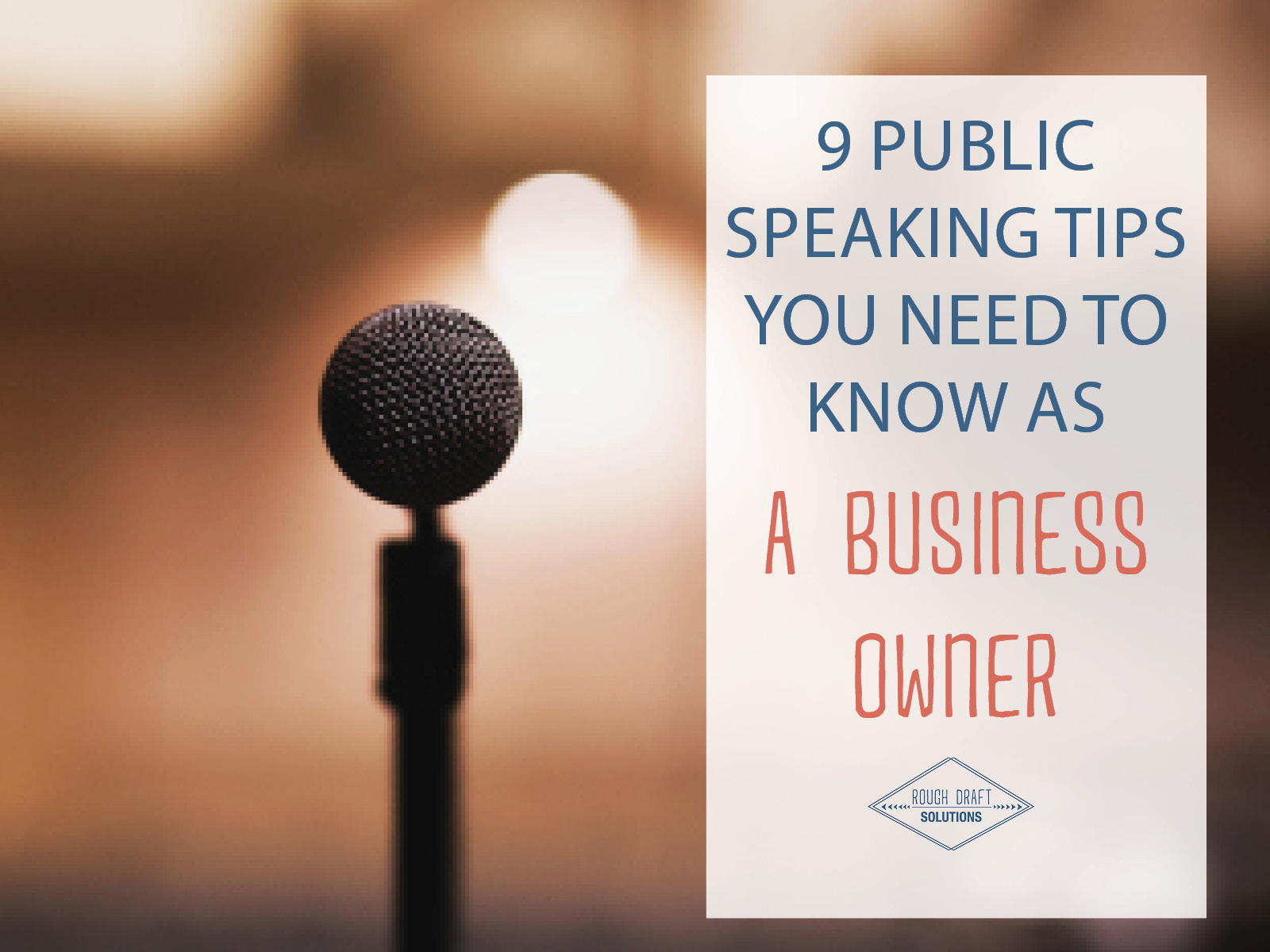 Public Speech Tips 9 Public Speaking Tips You Need To Know As A Business Owner