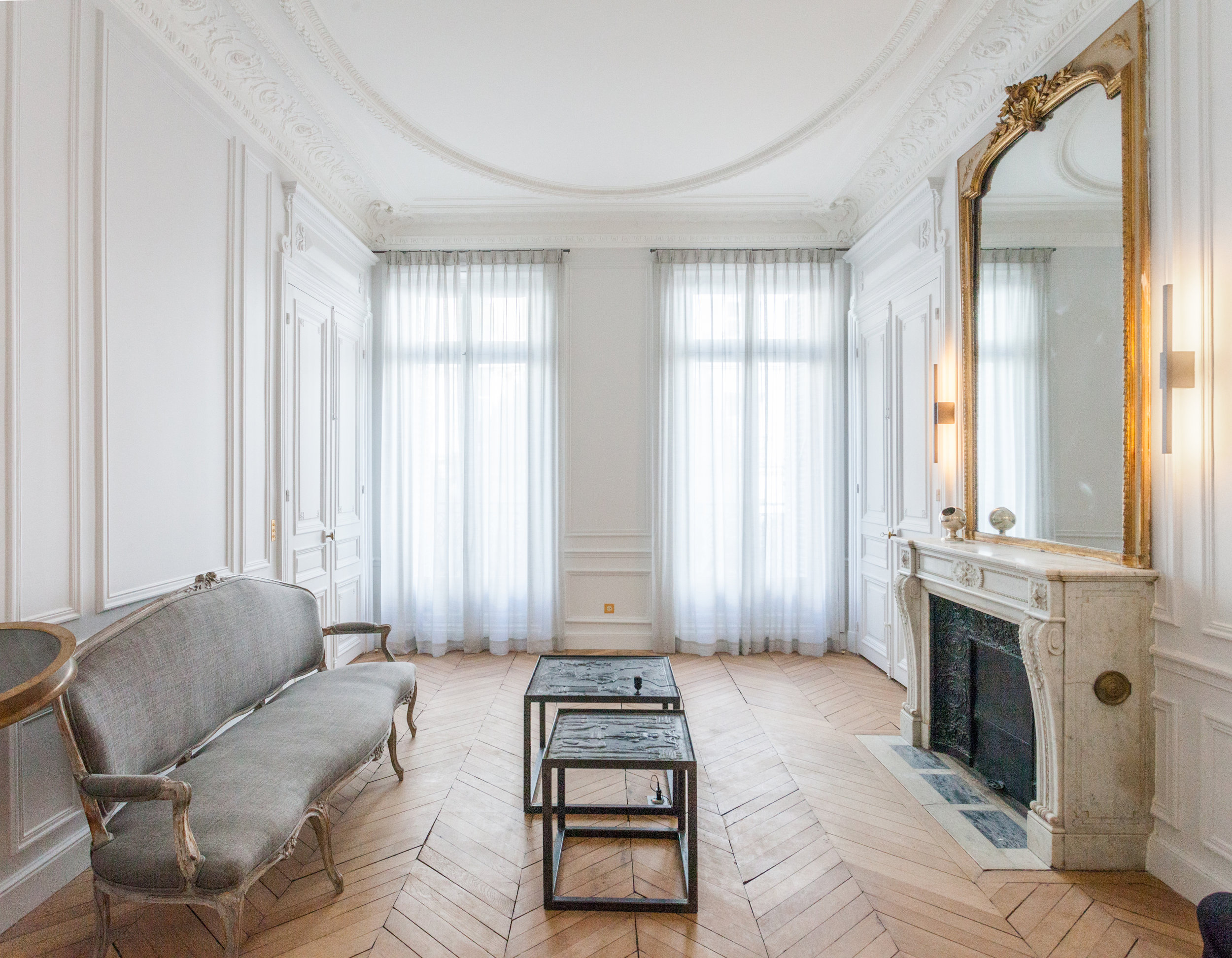 Renovation Haussmannien Appartement Haussmannien Atelier Uoa