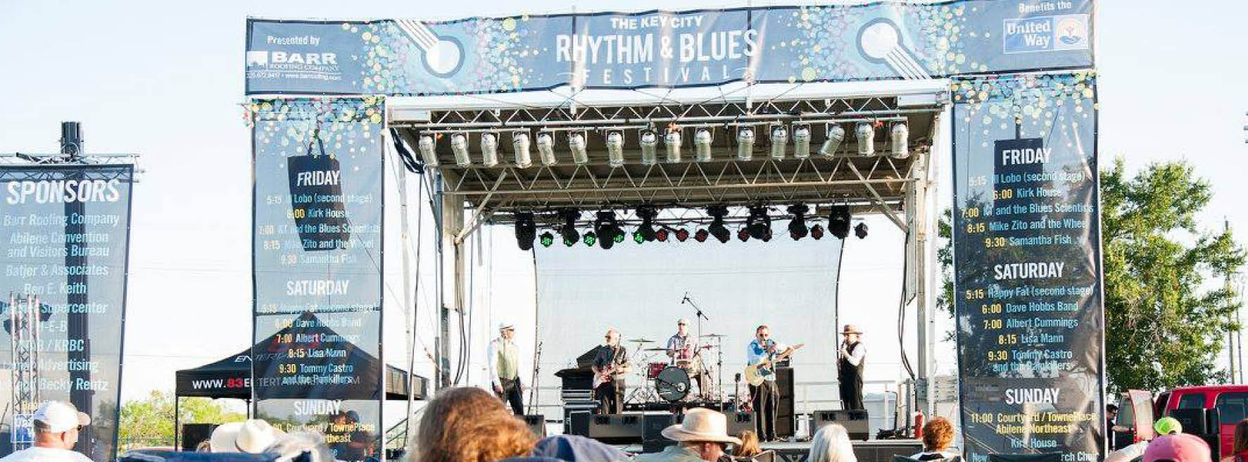 Bureau Zito Key City Rhythm Blues Festival A People Party Productions