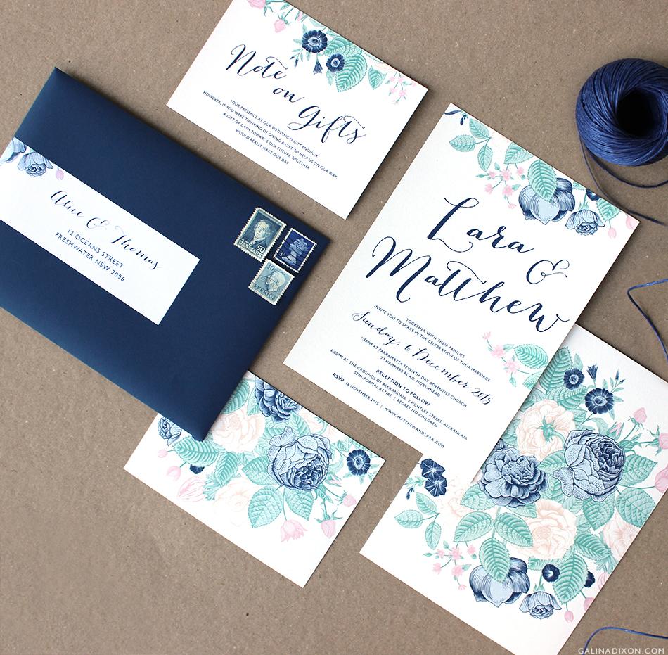 wedding stationery lara matthew wedding stationery Lara Matthew Wedding Stationery by Galina Dixon 4