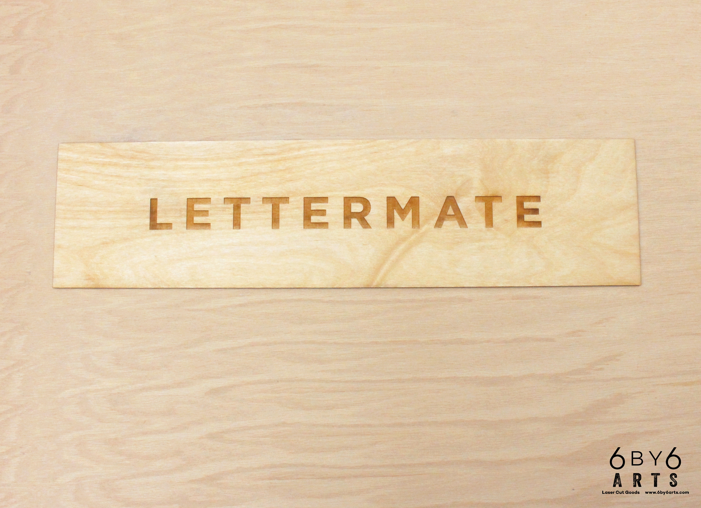 The Original Lettermate The Lettermate Laser Cut And Engraved Image Gallery — 6 By 6 Arts