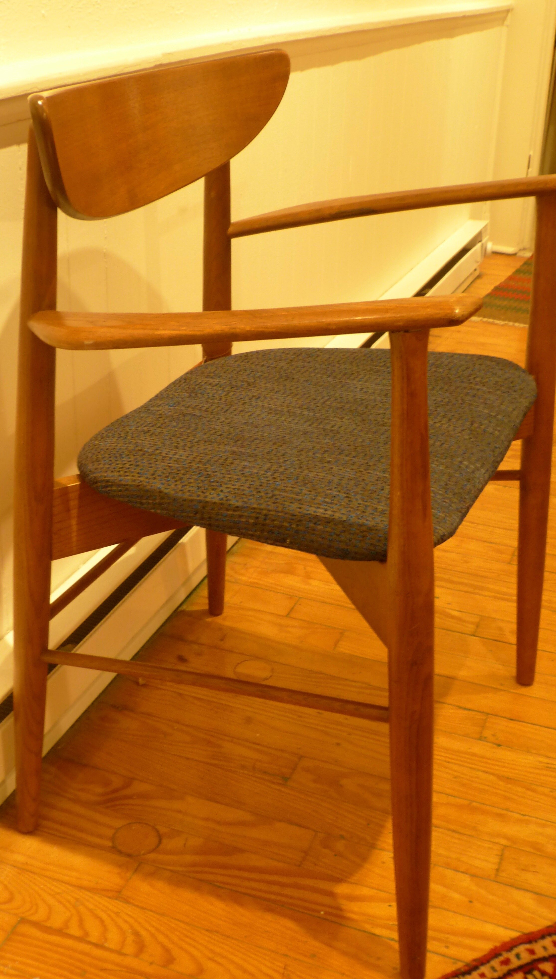 Set Of Six Danish Modern Dining Chairs Graber Found