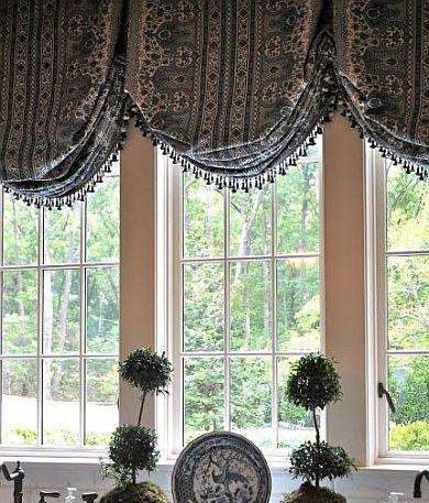 Balloon Shades NJ - balloon curtains for living room