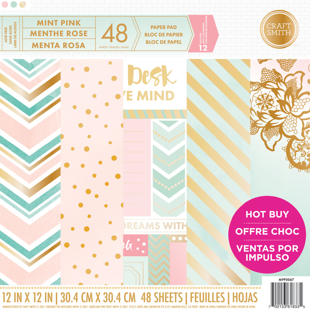 12 New Paper Pads at Michaels!  Craft Smith