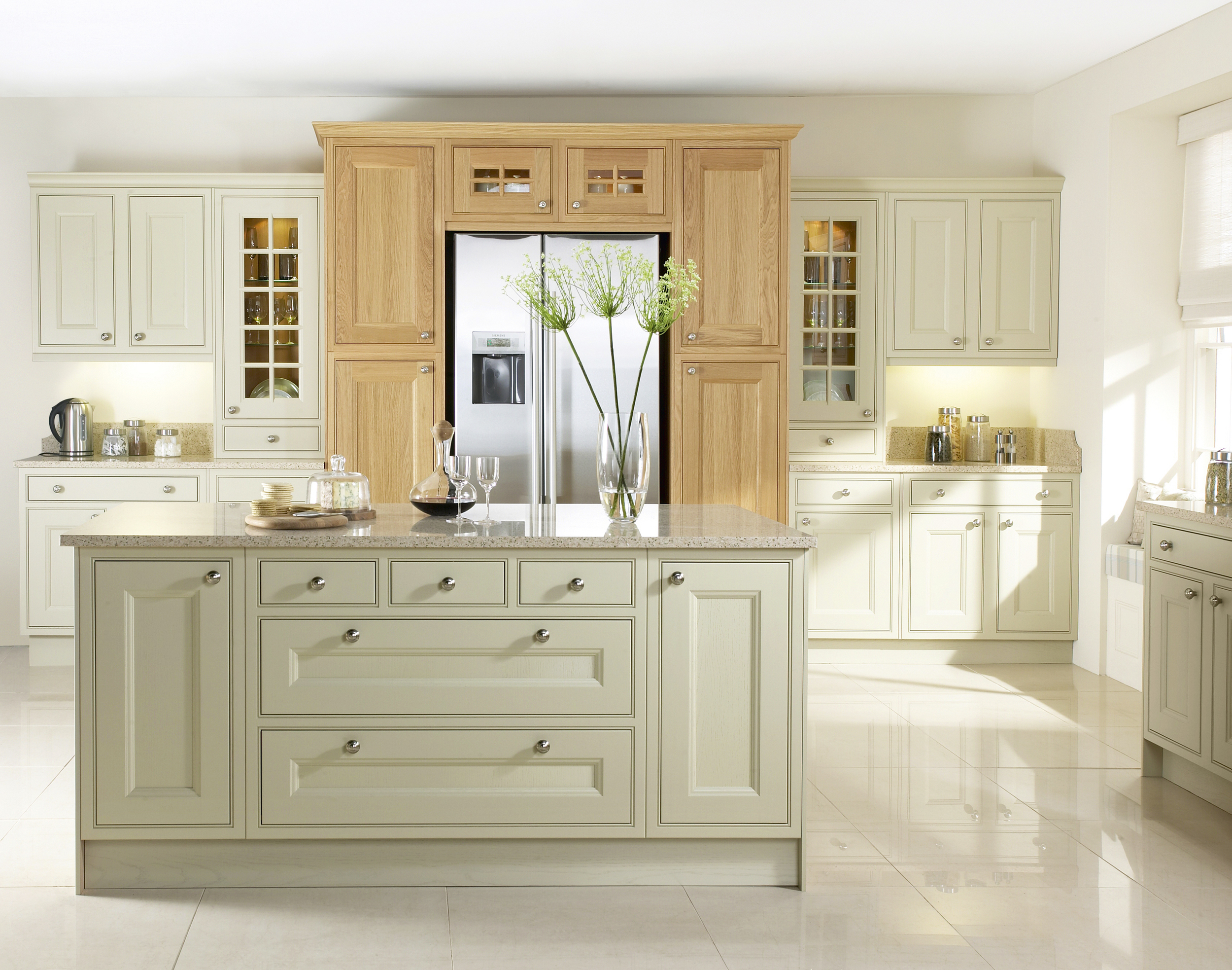 kitchen ideas for two toned kitchen cabinets Two tone kitchen
