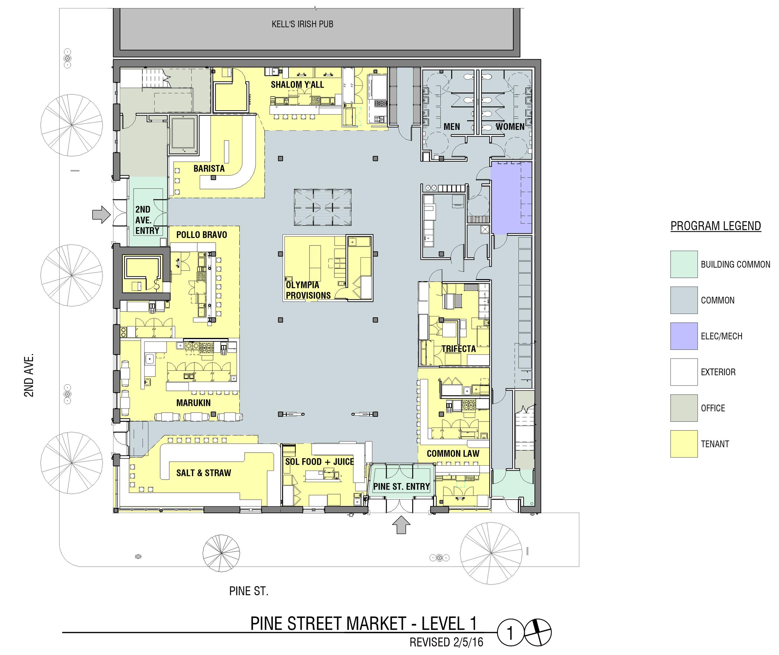Floor Plan Pine Street Market