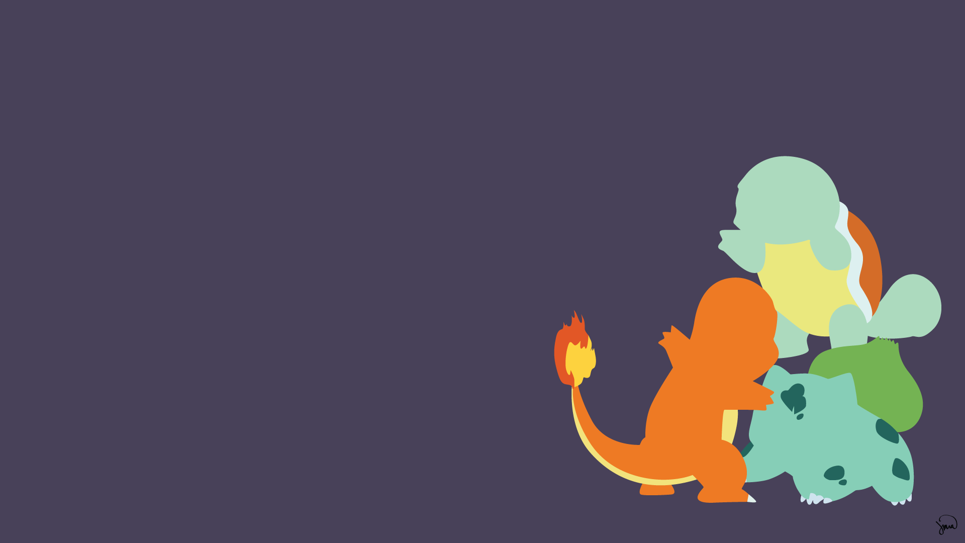 Lady Insanity 406 Anime Minimalist Vector Wallpapers