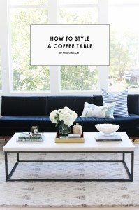 Coffee Table Styling Shopping Guide  STUDIO MCGEE