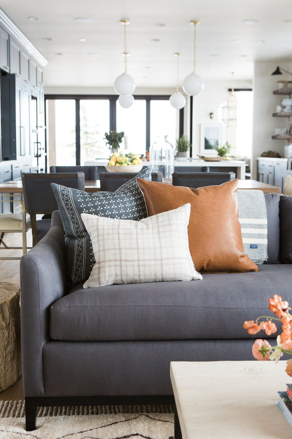 Big Sofa Back Cushions How To Style Your Throw Pillows
