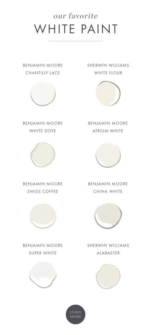 Medium Of Benjamin Moore Chantilly Lace