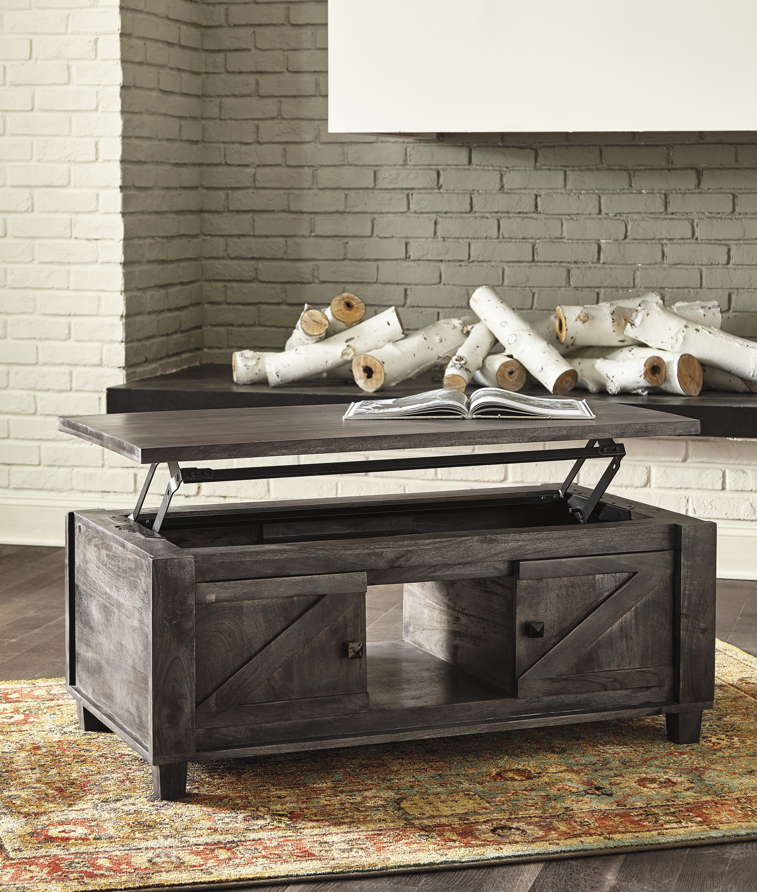 Warehouse Table Coffee Tables Living Room Furniture Market Warehouse Furniture