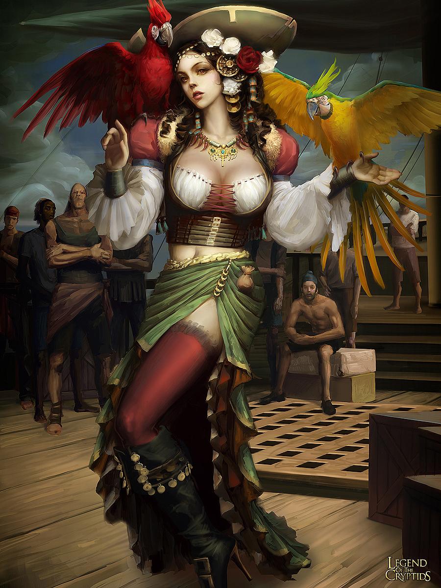 League Of Legend Wallpaper 3d Legend Of The Cryptids Art Of Haiwei