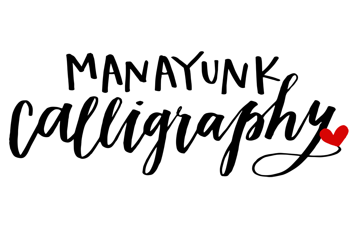 Calligraphy For Beginners Online Online Workshops Manayunk Calligraphy