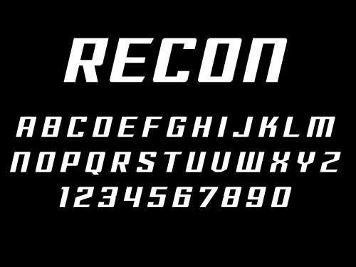 RECON \u2014 SPORTSFONTS