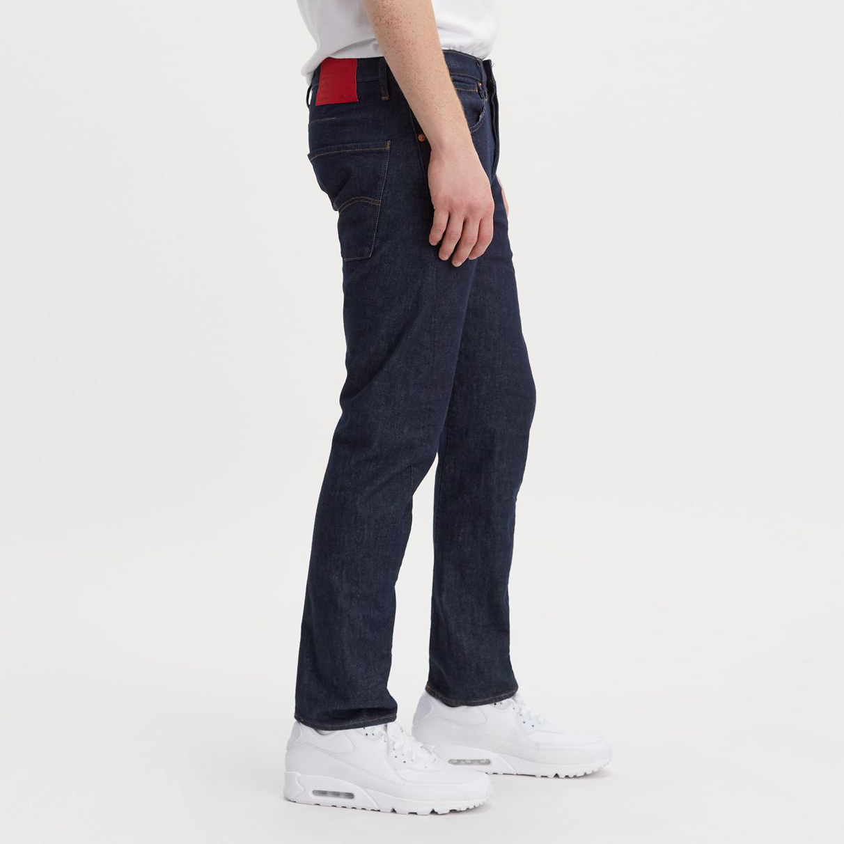 Jeans Levis Levi S Engineered Jeans 502 Taper In Rinse Denim Lej