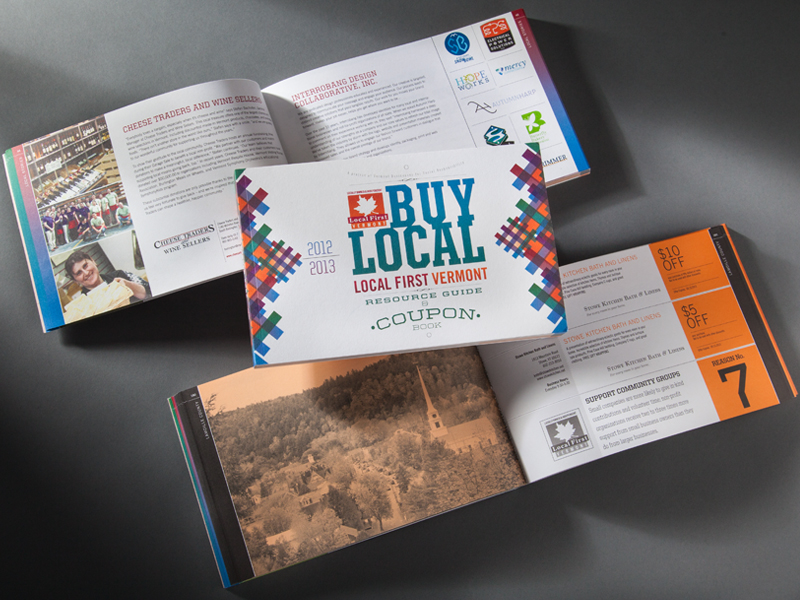 VBSR Publication Design, Event Materials Design \u2014 Interrobang Design - Coupon Book Printing
