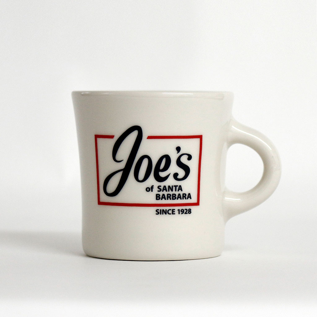 Mug A Cafe Joe S Cafe Logo White Coffee Mug