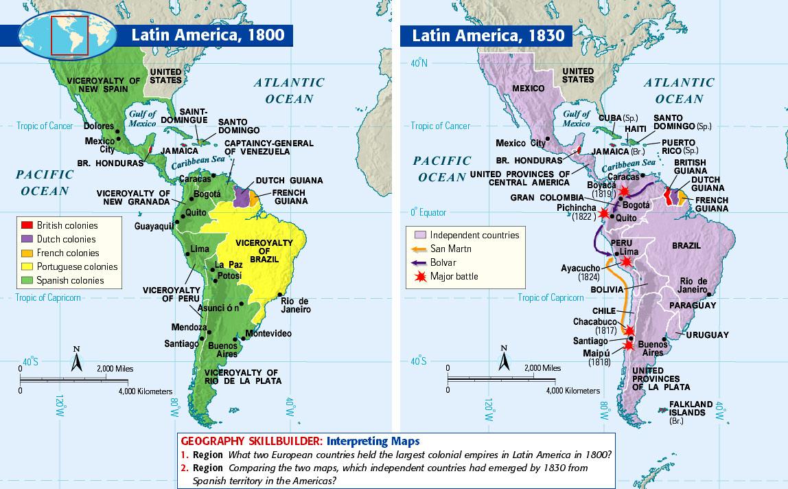 Latin American Independence \u2014 Freemanpedia
