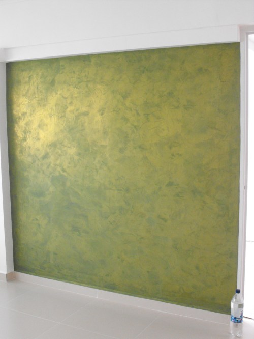 Medium Of Metallic Wall Paint