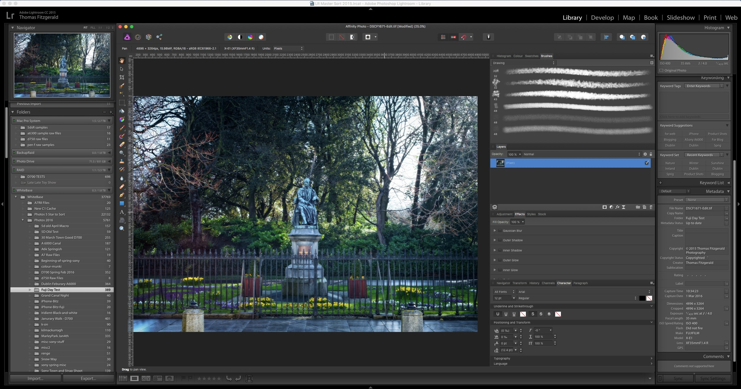 Especial Lightroom How To Use Affinity Photo As An External Editor Lightroom Thomasfitzgerald Photography How To Use Affinity Photo As An External Editor dpreview Affinity Photo Photoshop