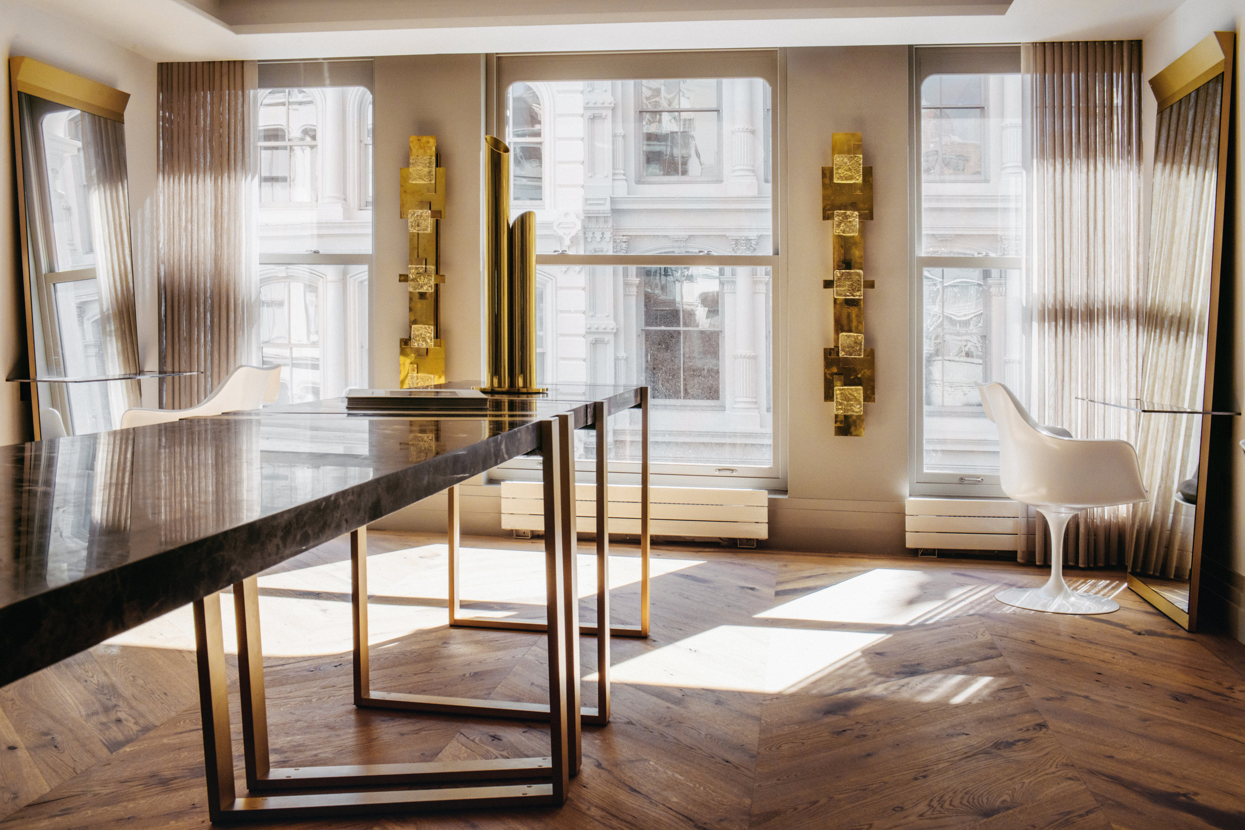 Salon David Mallett Paris In New York Step Into David Mallett S New Design Forward