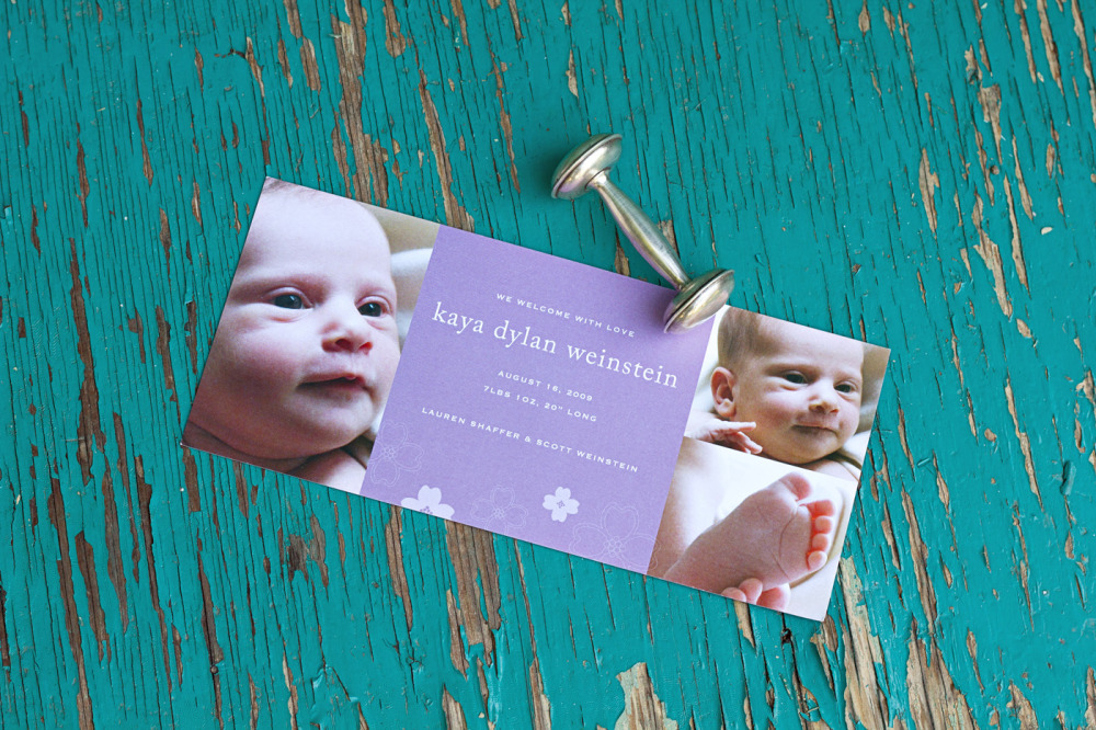 Birth Announcements \u2014 Double Happiness Creations - photo announcements