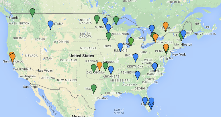 A Map of Cities That Got Rid of Parking Minimums — Strong Towns