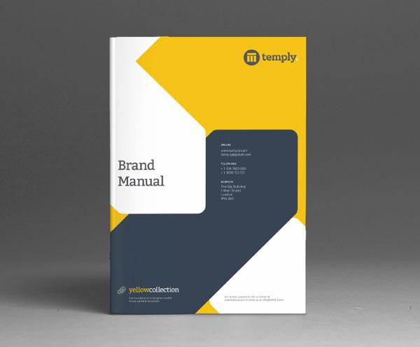 Brand Manual Template \u2014 Temply - manual design templates