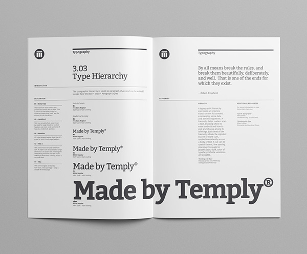Brand Manual Template \u2014 Temply