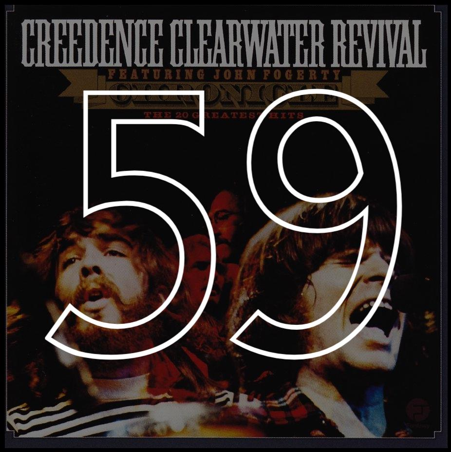 Wall Art Credence 59 Creedence Clearwater Revival