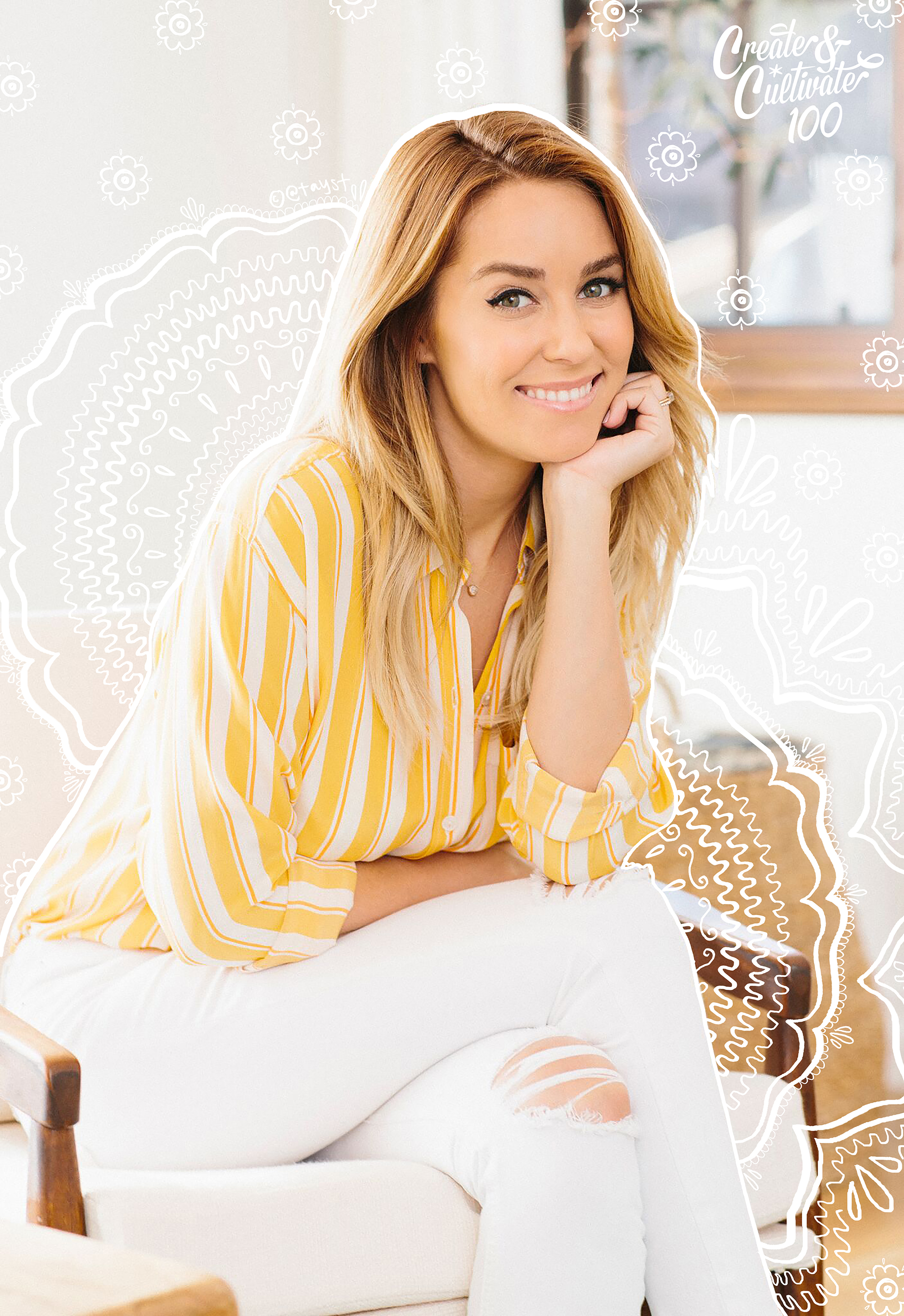 Lauren Conrad Philanthropy Lauren Conrad The Little Market Create Cultivate