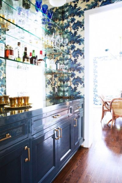 Dress your walls :: Why paper is better than paint — The Entertaining House