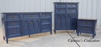 Navy Blue Bedroom Furniture  Chrissie's Collection