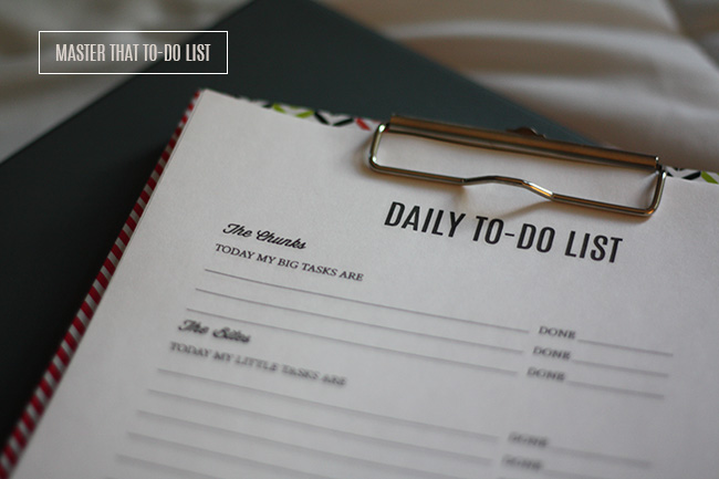 Master That To-Do List (Free Printable!) \u2014 Laurie Cosgrove Design