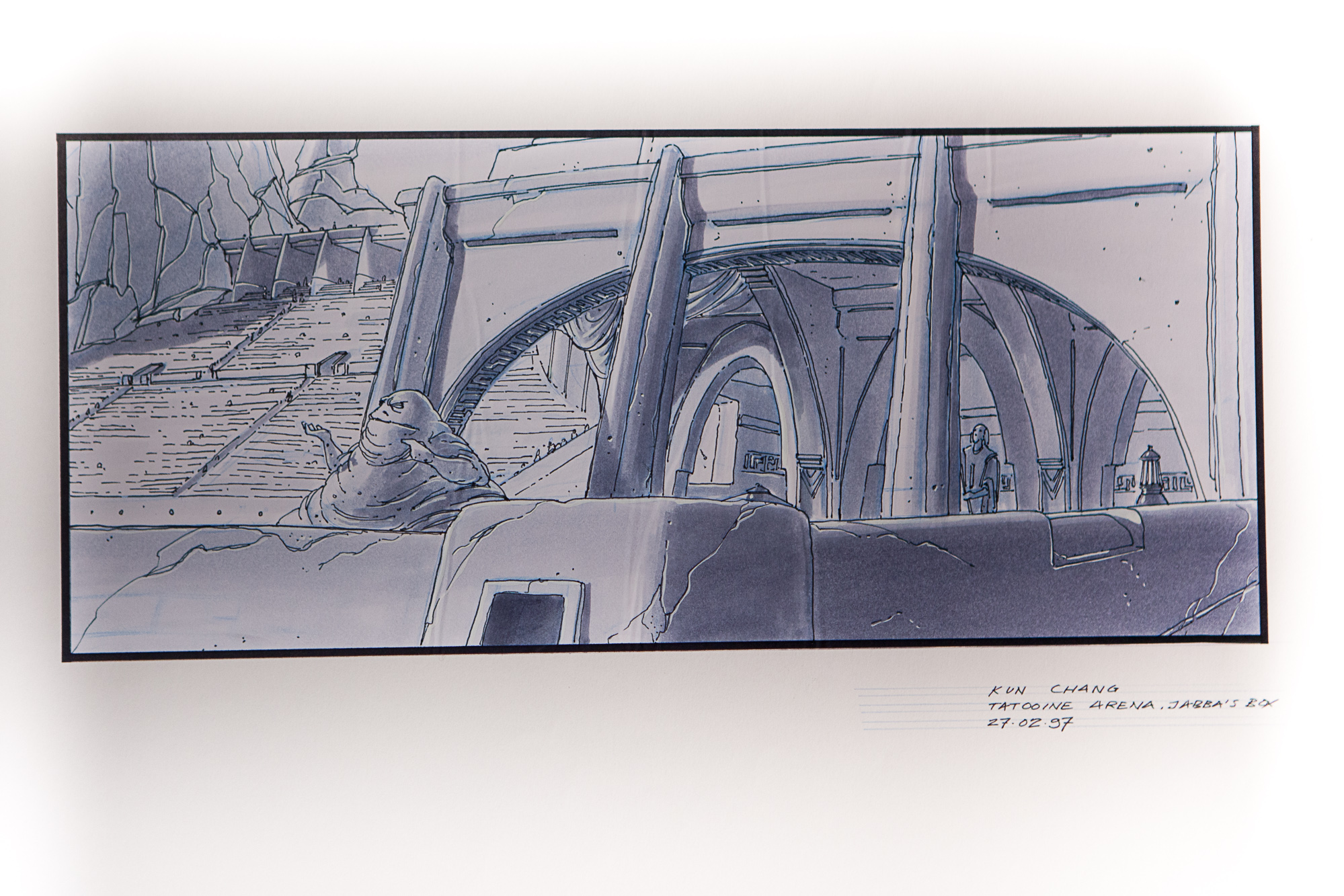 Gavin Bocquet interview Production Designer Star Wars star - copy what is blueprint paper called