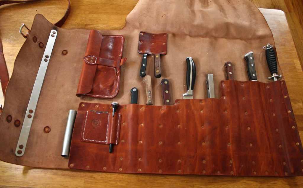 Knife Rolls Mascon Leather
