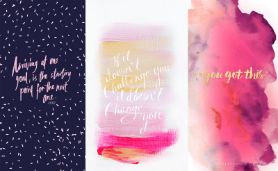Get It, Girl: 6 iPhone Backgrounds to Motivate You — Michelle Locke